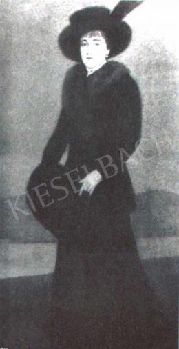 Czigány Dezső - Női képmás, 1911-1912