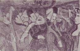 Czóbel Béla - Moulin de la Galette, 1907-1908 körül
