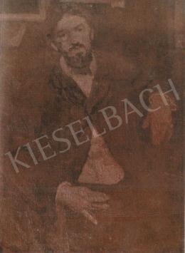 Czóbel Béla - Dobai Székely Andor portréja, 1905