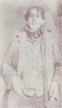 Czóbel Béla - Önarckép, 1905-1906 körül