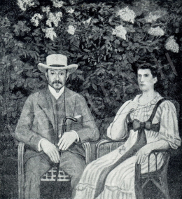Kernstok, Károly - Artúr Lederer and his Wife, 1908