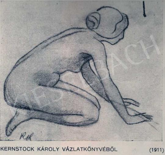 Kernstok Károly - Vázlat, 1911 festménye