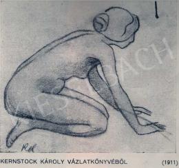 Kernstok Károly - Vázlat, 1911