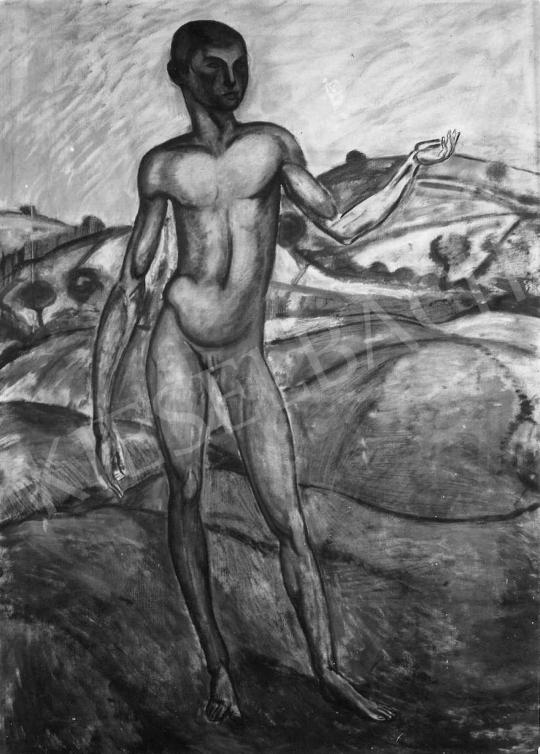 Kernstok Károly - Ifjú, 1909 festménye