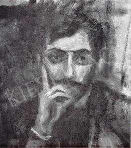 Kernstok, Károly - Portrait of Géza Goda, 1908