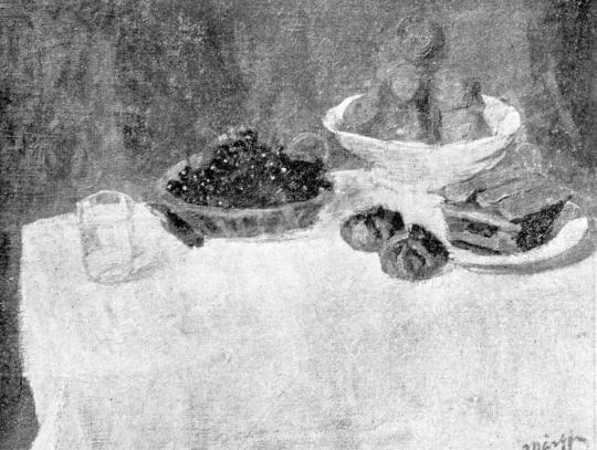 Márffy Ödön - Cseresznye és narancsok, 1907 előtt festménye