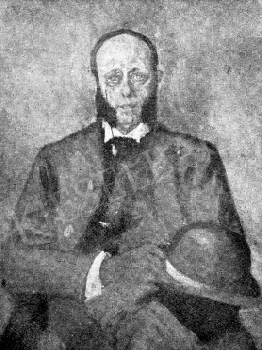 Márffy Ödön - Az amatőr, 1905 körül festménye