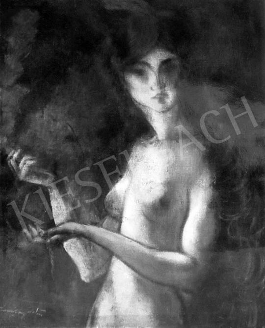 Márffy Ödön - Akt (Pallas Athéné), 1911-1921 festménye