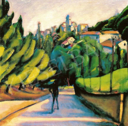 Márffy, Ödön - North Italian Landscape, early 1910s
