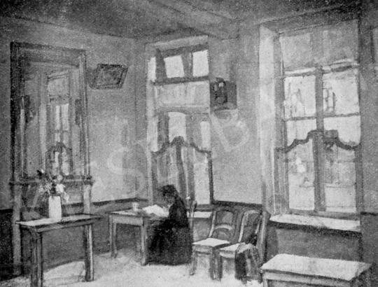 Márffy Ödön - Zöld szoba, 1906 festménye