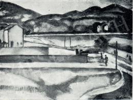 Márffy Ödön - Gyártelep, 1910 körül