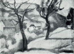 Márffy, Ödön - Landscape, 1909