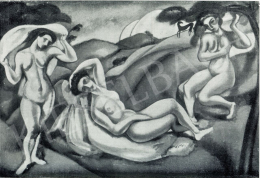 Márffy, Ödön - Three Nude, 1910