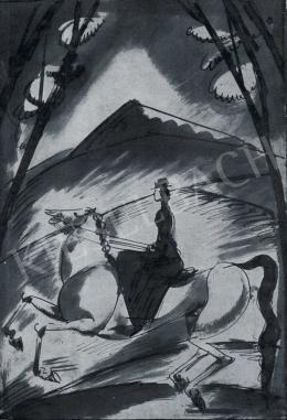 Márffy, Ödön - Riding Woman, 1913