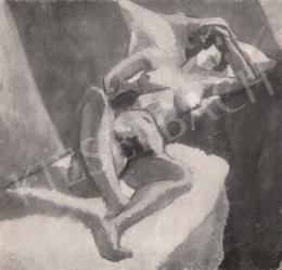 Tihanyi Lajos - Akttanulmány, 1911 körül