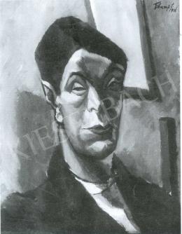 Tihanyi Lajos - Önarckép, 1911