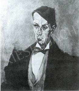 Tihanyi Lajos - Kosztolányi Dezső-portré, 1914