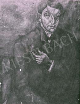 Tihanyi Lajos - Önarckép, 1911 körül