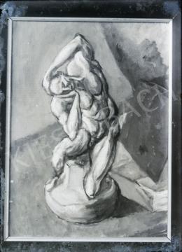Tihanyi Lajos - Csendélet Michelangelo-szoborral, 1908-1909 (?)