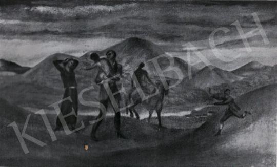 Kernstok, Károly - Leaving, 1910s painting