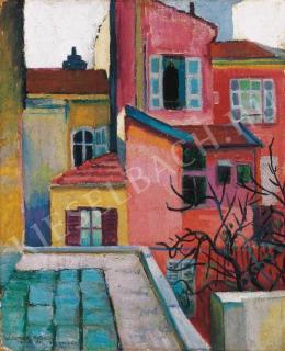 Berény Róbert - Monacói háztetők (1906)