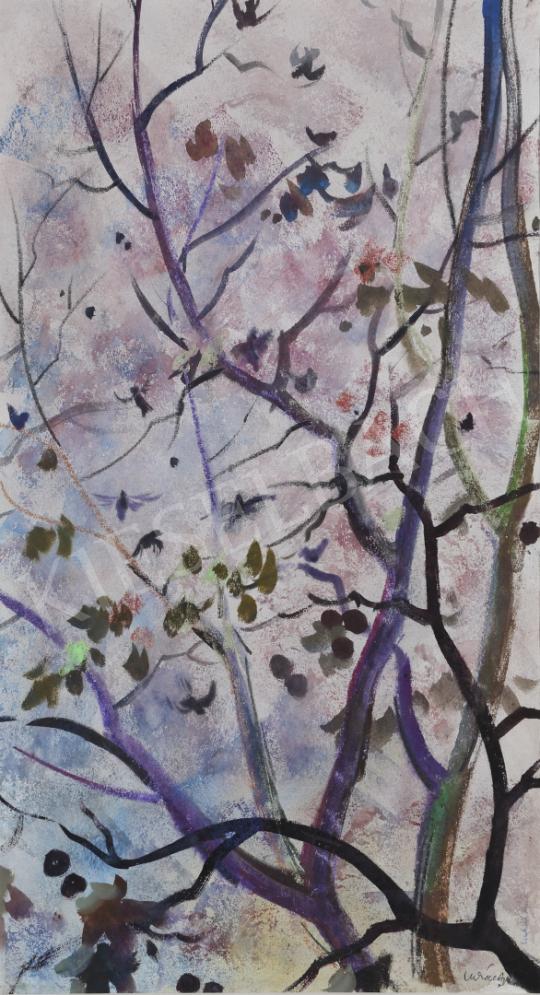 For sale Lukács, Ágnes - Returning Sparrows, 1970 's painting