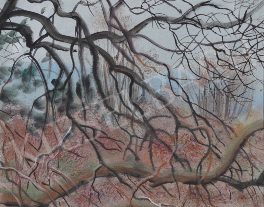 For sale Lukács, Ágnes - Branches in the Park Szigliget, 1987 's painting
