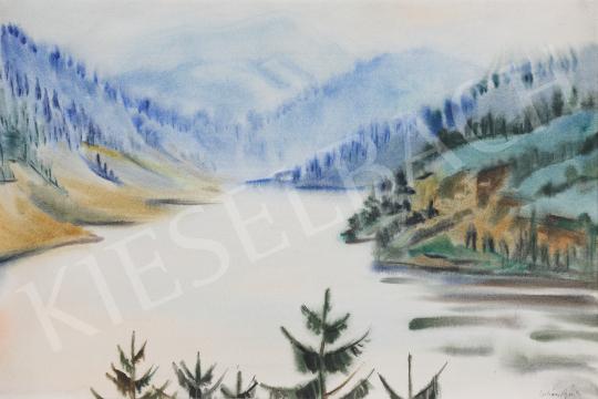 For sale Lukács, Ágnes - Bicaz Reservoir, 1988 's painting