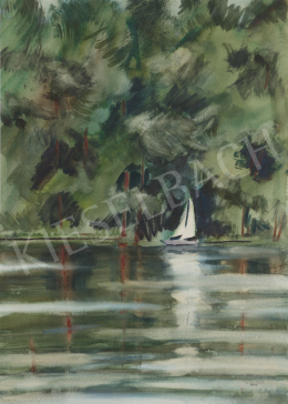 Lukács, Ágnes - At the Lake Mazúr, 1979