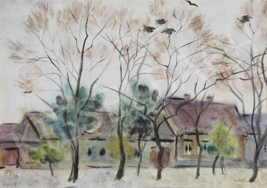 Lukács Ágnes - Varjúfészkek, 1984 festménye