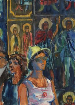 Lukács Ágnes - A Rilai kolostorban, 1963