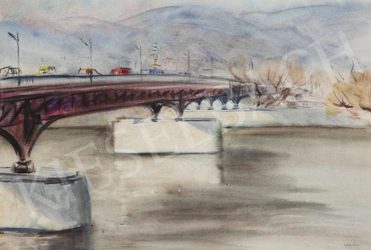 Eladó Lukács Ágnes - Az Árpád híd, 1981 festménye