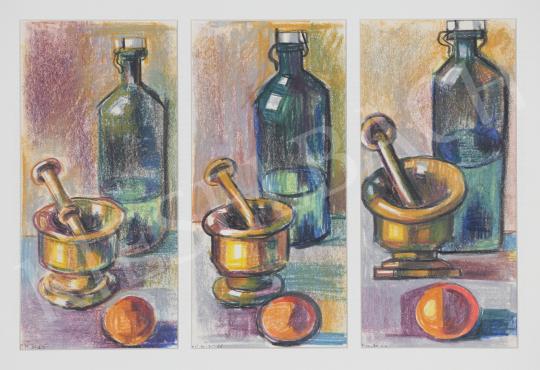 Eladó Lukács Ágnes - Csendéletek I., 1970 festménye