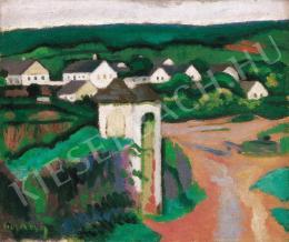 Czigány Dezső - Tájkép, 1906-1908