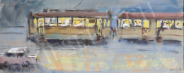 Lukács, Ágnes - Evening Trolley, 1968