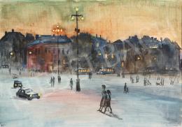 Lukács, Ágnes - Heroes' Square, 1958