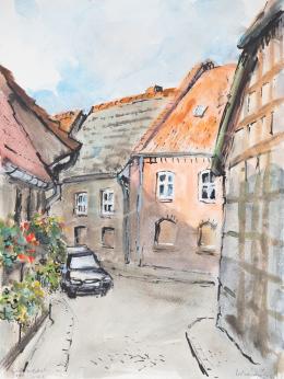 Lukács, Ágnes - Salzwedel Street III., 2000
