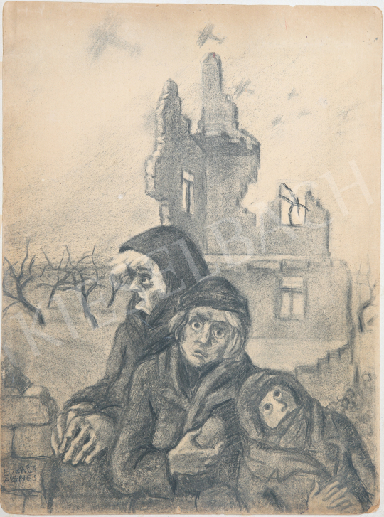 For sale Lukács, Ágnes - Bombing, 1942 's painting