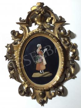 Ismeretlen olasz alkotó, 19. század - Szerelmespár I., 19. század vége - két kép együtt 1 850 000 Ft