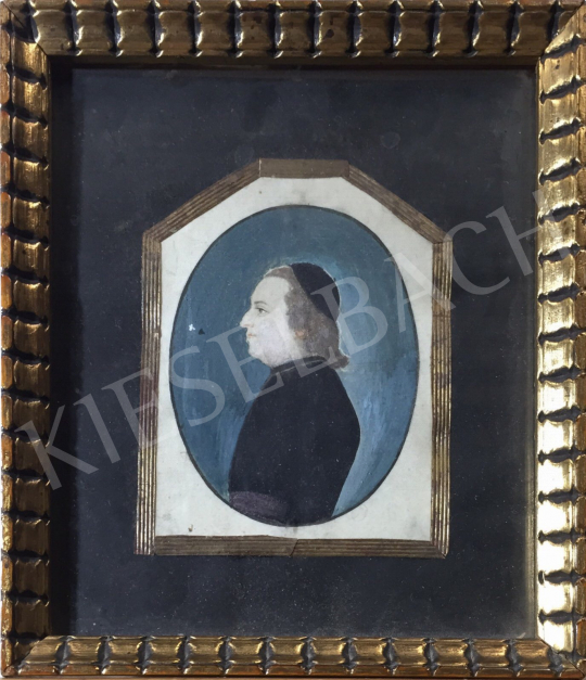For sale  Unknown Artist from Middle-Europe, 1840s - Portrait of a Man, c. 1840 's painting