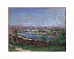 Bálint, Rezső - Landscape with a Fence