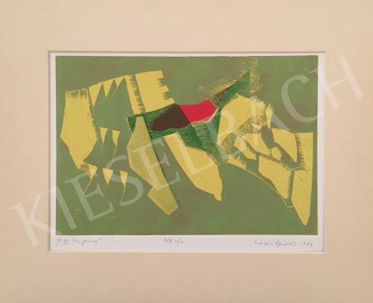 Eladó Lóránt János Demeter - Egy kis piros, 1983 festménye