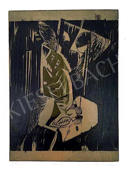 Eladó Lóránt János Demeter - Éléskamra, 1986 festménye