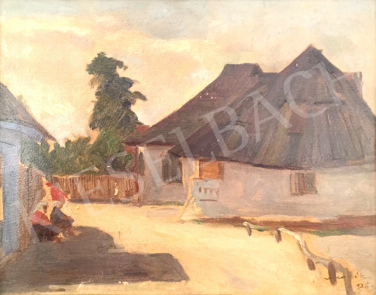 For sale  Macalik, Alfréd - Part of Hátszeg, 1928 's painting