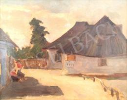 Macalik Alfréd - Hátszegi részlet, 1928
