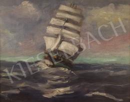 Kézdi-Kovács Elemér - Vitorlás hajó, 1926