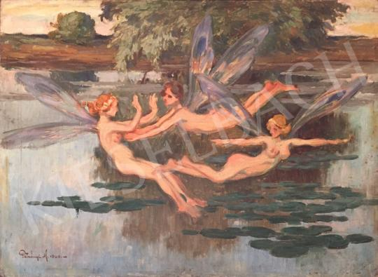 For sale  Petrányi, Miklós - Fairies 's painting