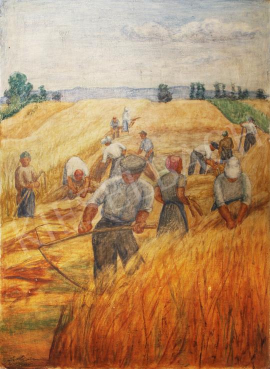 For sale  Lám, Ilona (Lám Ilus, Sz. Lám Ilona) - Harvest 's painting