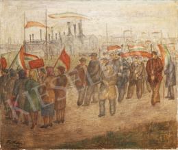 Lám, Ilona (Lám Ilus, Sz. Lám Ilona) - National Procession, 1946