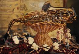 Szinte János - Still-Life with Saxophone